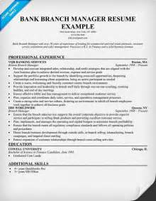 resume for bank service manager bank branch manager resume resume sles across all industries resume exles