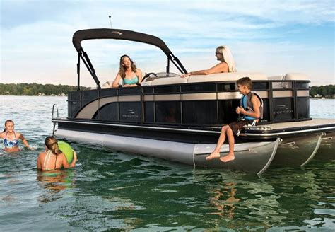 Best Tritoon Boat For The Money by Sx Series Pontoon Boats By Bennington