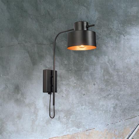 black copper wall light cl 37199 e2 contract lighting uk