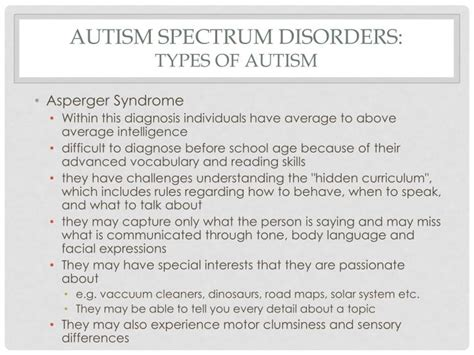Autism Powerpoint Presentation