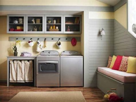 small laundry room ideas  top loading washer