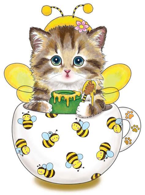teacup kittens coloring book design originals  adorable expressive eyed cat designs