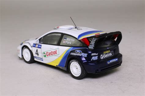 Deagostini; Ford Focus Wrc; 2003 Acropolis Rally; Markko