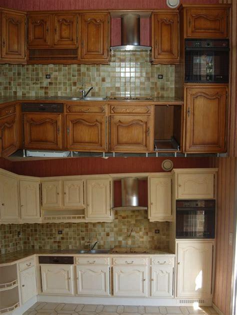customiser une cuisine en chene relooking de cuisine en bois massif chêne vannes