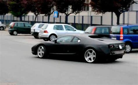 De Tomaso Pantera Caught Exiting Factory - autoevolution