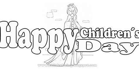 brave coloring page happy childrens day coloring child coloring