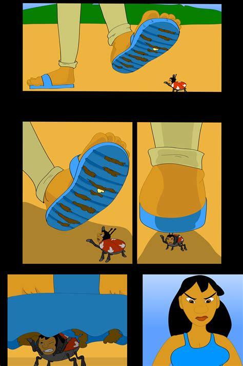 Rouge Giantess - stoaryboard lilo bugs nani by jackurai on deviantart
