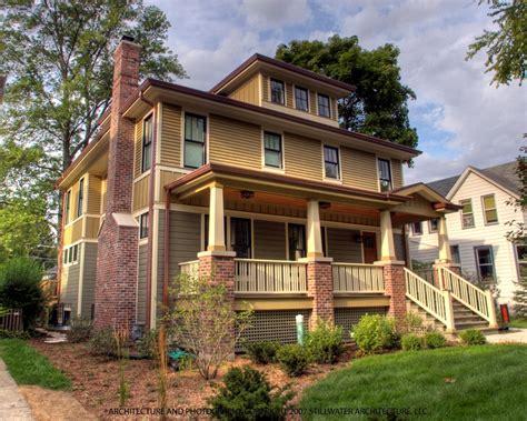 American Foursquare Color Scheme  Historic House Colors