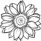 Sunflower Coloring Tattoo Bunga Matahari Mandala Gambar Tattoos Sketsa Inkbox Mewarnai Drawing Circle Owl Drawings Shoulder Semi Florecer Puppy Sheets sketch template