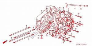 Crankcase  C100m  For Honda Ex5 Dream 100  Electric Start