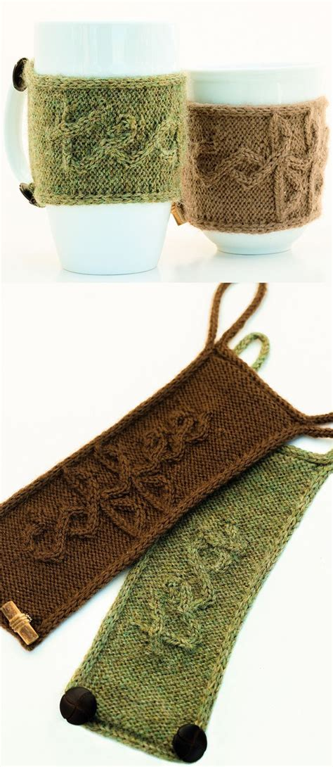 On their behalf, it is an. Knitting Pattern for Cuppa Cozy - The unique cabled ...