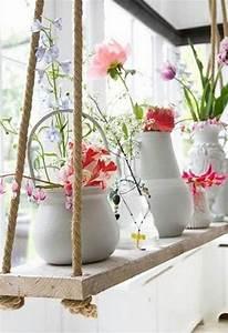 Fensterdeko Zum Aufhängen : die 25 besten ideen zu blumenampeln auf pinterest h ngepflanzen zimmer h ngepflanzen und ~ Frokenaadalensverden.com Haus und Dekorationen