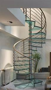 China, Modern, Design, Stainless, Steel, Glass, Spiral, Staircase, Spiral, Stairs, With, Rod, Bar, Railing