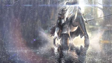 Nier Automata Animated Wallpaper - rainfall live wallpapers best hd wallpaper