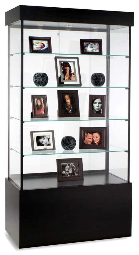 these display cabinets a halogen top light system