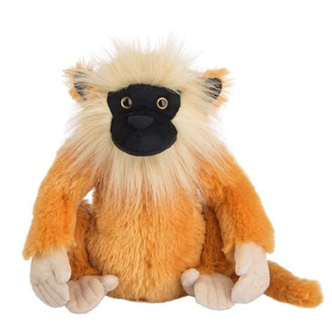 Webkinz Golden Langur Monkey, May 2017 Release   Hearts