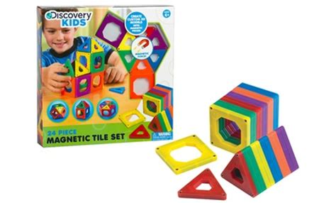 Discovery Magnetic Tiles Walgreens by Discovery Magnetic Tiles Groupon Goods