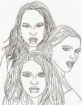 Vampire Coloring Pages Vampires Mythical Adult Empusa Sheets Creatures Mythology Greek Diaries Colouring Books Blood Elegant Hellokids Monster Suckers Goth sketch template