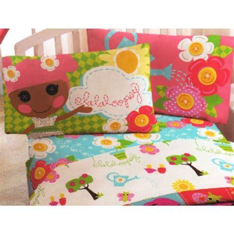lalaloopsy sew magical rag dolls 3pc twin bed sheet set