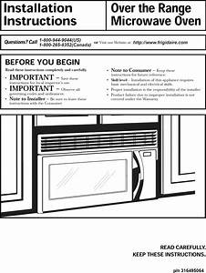 Frigidaire Microwave Installation Instructions  U2013 Bestmicrowave