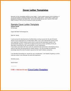Resume Cover Letter Samples Doc