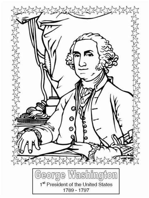 Presidents Coloring Pages by Presidents Coloring Book