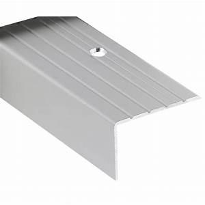 Barre De Seuil Leroy Merlin : nez de marches alu incolore dessus stri s 40 x 25 mm 3 m ~ Dailycaller-alerts.com Idées de Décoration