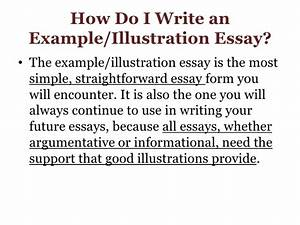 Examples Of Argumentative Thesis Statements For Essays Sample Of Example And Illustration Essay Example Buy Essays Papers also How To Write A Proposal For An Essay Sample Of Illustration Essay Write Essay Service Example  My English Essay