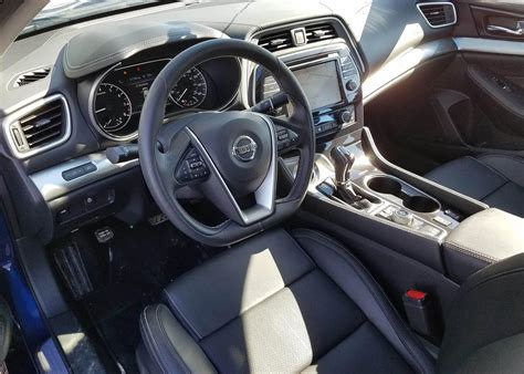 nissan maxima sl review  luxury sedan loaded