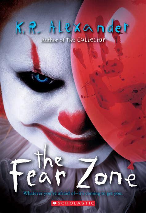 fear zone    alexander paperback book