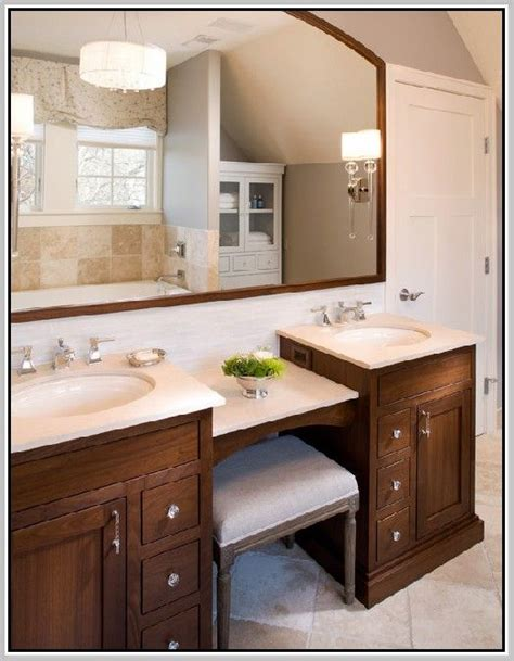 sink bathroom vanity with makeup table best 25 sink vanity ideas on