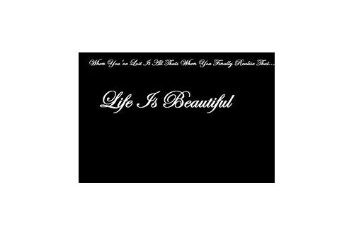 life is beautiful free download sixx am