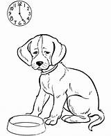Coloring Dog Sheets sketch template