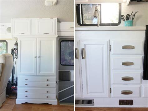 RV Renovation: Painting RV Cabinets & Updating Cabinet