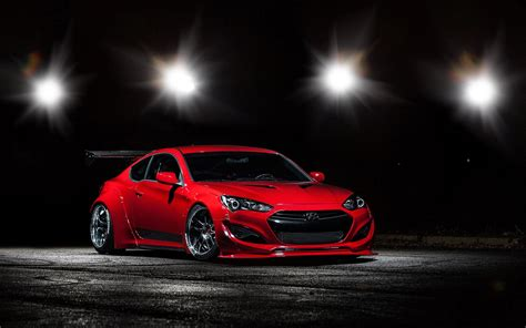 Test drive used hyundai genesis coupe at home from the top dealers in your area. One Sick Red Hyundai Genesis Coupe with Custom Parts ...