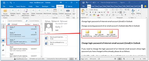 embed outlook email  word document