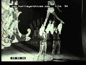 Acrobatic music hall act in the 1930's - Film 94 - YouTube