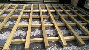 comment faire terrasse pas chere maison design bahbecom With faire une terrasse en caillebotis