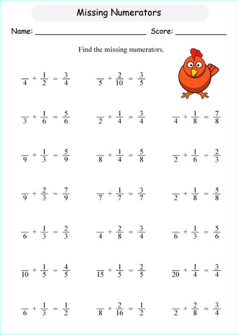 primary  maths worksheets missing coloring sheets