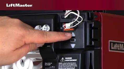 how to program a liftmaster garage door opener adjust liftmaster garage door opener ppi