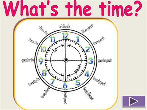 Clock  Telling The Time By Evaszucs  Teaching Resources