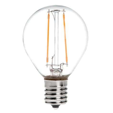 s11 e17 intermediate base 2w led vintage antique filament