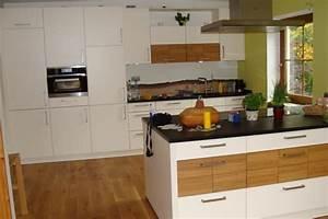 Küche Mit Granitarbeitsplatte : nolte k che 5 monate alt magnolie eiche massiv ~ Michelbontemps.com Haus und Dekorationen