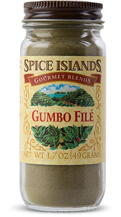 gumbo file gumbo file spices and herbs spice islands
