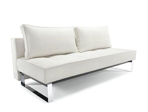 canapé lit 140 cm canape lit design supreme deluxe blanc convertible 200 140cm