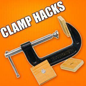 clamping hacks part  woodworking tips  tricks