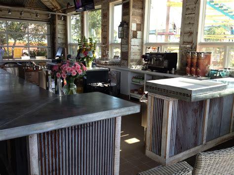 discount kitchen island belly up to b s custom zinc bar renaissance