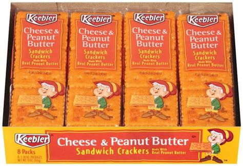 Keebler Cheese And Peanut Butter Crackers