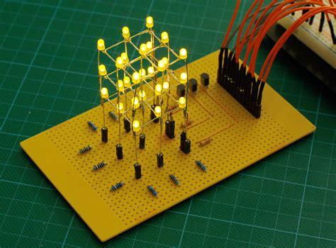 3x3x3 led cube part 1 smyck