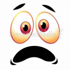 Scared Frown Face Clipart - Clipart Suggest
